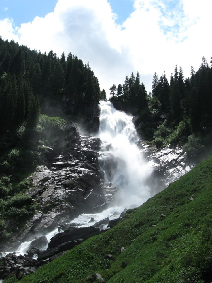 Krimmler Wasserfälle in Krimml-Salzburgerland