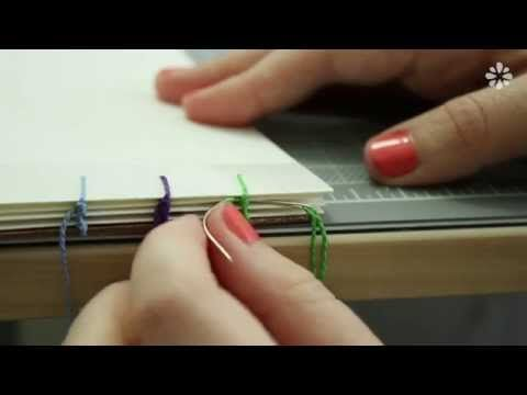 ▶ How to Bind Single Sheets : Bookbinding Tutorial - YouTube
