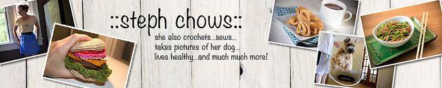 ::stephchows:: | Food stuff, simple sewing things, random crafts, sense of humor.