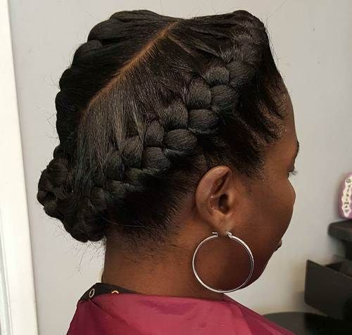 60 inspirational examples of goddess braids   – Goddnes – #Braids #Examples #God…   – Braid Recipes