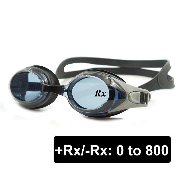 Gafas de Natación óptica Hipermetropía + 1.0 a + 8.0 y Con visión de futuro miopía-1.0 a-8.0, adultos Niños Diferentes Fortalezas para Cada Ojo