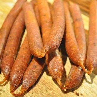 Homemade Hickory Smoked Pepperoni Sticks