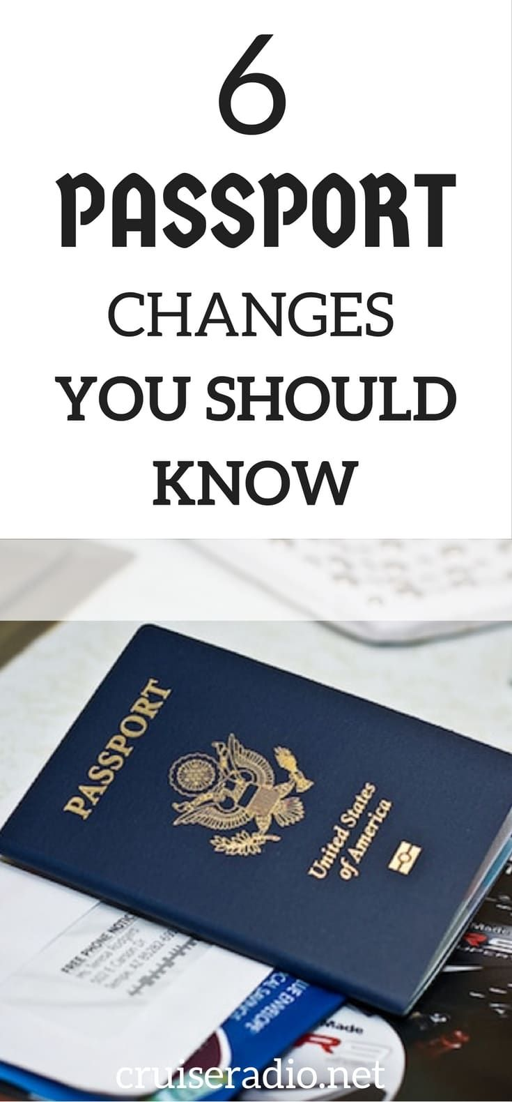 With travel on the upswing, many people are looking to apply for or renew their passport. We have six changes in the process you need to be aware of.