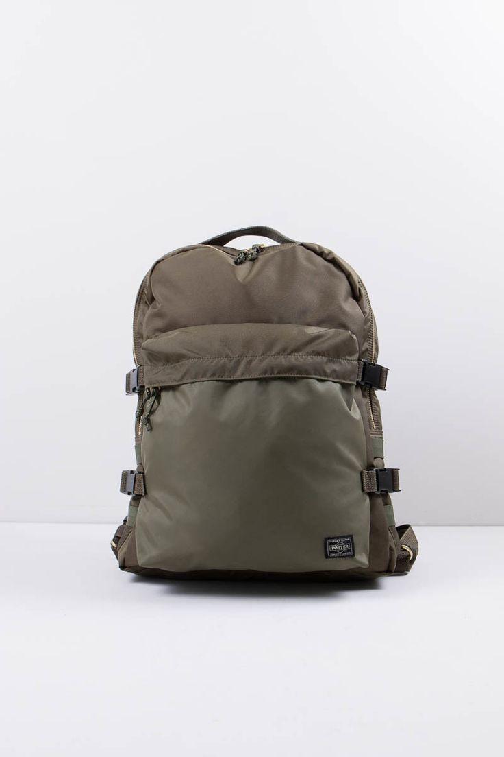 Porter Yoshida & Co Ltd Olive Force Day Pack