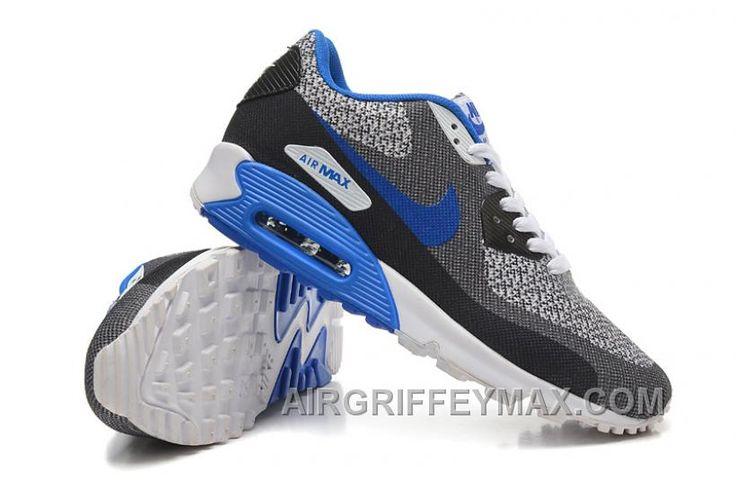 http://www.airgriffeymax.com/cheap-buy-nike-air-max-90-mens-running-shoes-on-sale-black-grey-blue.html CHEAP BUY NIKE AIR MAX 90 MENS RUNNING SHOES ON SALE BLACK GREY BLUE : $103.00