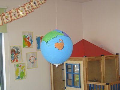 Müthiş fikir-balondan yapılan dünya..uzay ve gökyüzü konusunda diğer gezegenler de yapılabilir :)