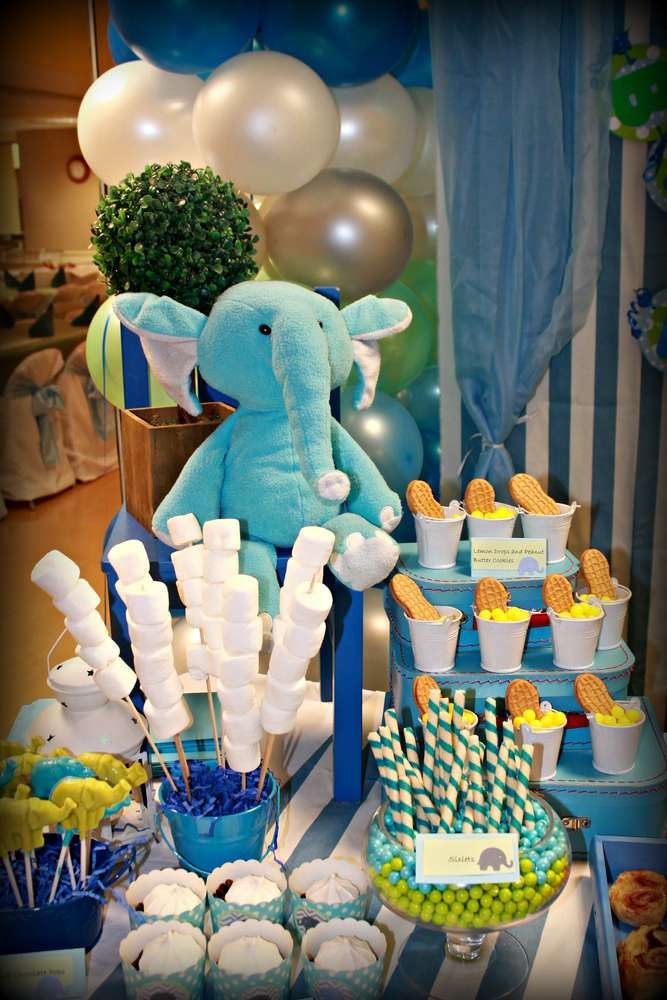 Elephants Birthday Party Ideas Photo 4 Of 25 Catch My