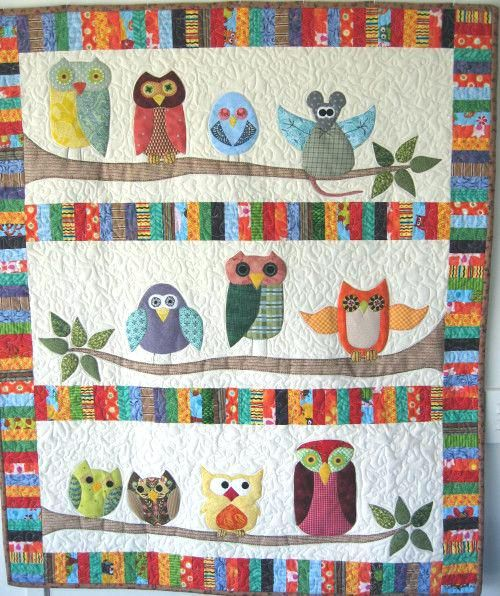 Owl Cot Quilt Baby Quilts With Owls Baby Quilt Patterns With Owls Baby Boy Quilt With Owls