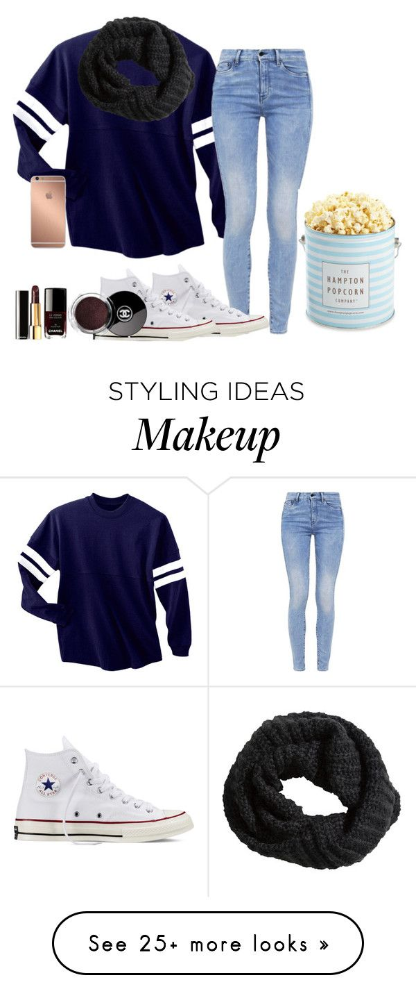 """Game"" by fashionworldoflove on Polyvore featuring Mode, G-Star, Converse, Mura, H&M und The Hampton Popcorn Company"