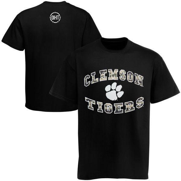 '47 Brand Clemson Tigers Operation Hat Trick Flanker T-Shirt - Black - $37.99