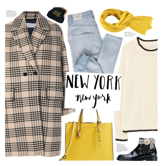 """""""new york, new york"""" by valentino-lover ❤ liked on Polyvore featuring Christian Wijnants, MANGO, Cheap Monday, Marc Jacobs, Christopher Kane and Forever 21"""