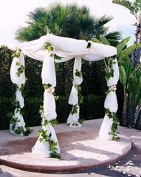 1000 Ideas About Wedding Arch Tulle On Pinterest Memory