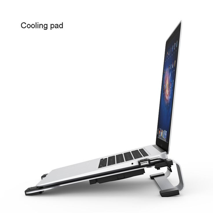 Laptop Cooling Stand Pad for Macbook - Samsung-Ultrabook With Build-in Usb Port, Notebook Cooler