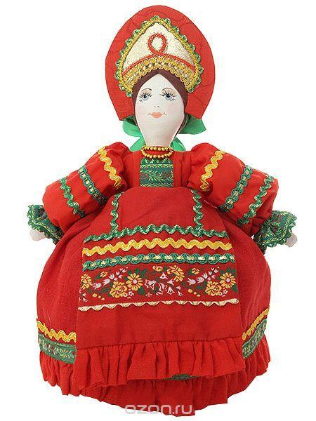 """Кукла для улучшения заваривания чая """"Маня в красном"""" - купить по выгодной цене с доставкой. Кухня от Тульский Самовар в интернет-магазине OZON.ru"""