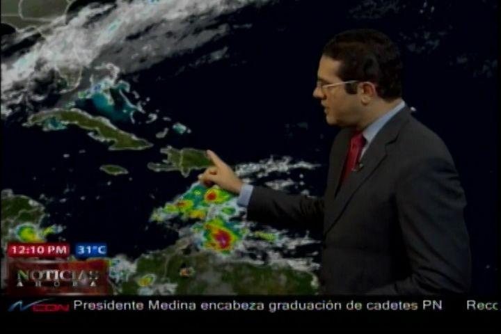 Jean Suriel Presenta El Pronóstico Meteorológico Para Los Próximos Días