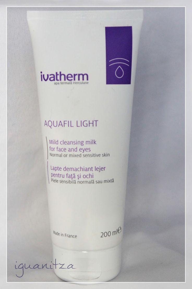 be a masterpiece: [Review] Ivatherm Aquafil Light / lapte demachiant lejer