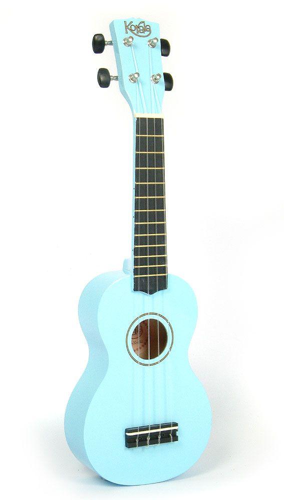 Korala Soprano Beginner Ukulele - UKS-30: Light Blue