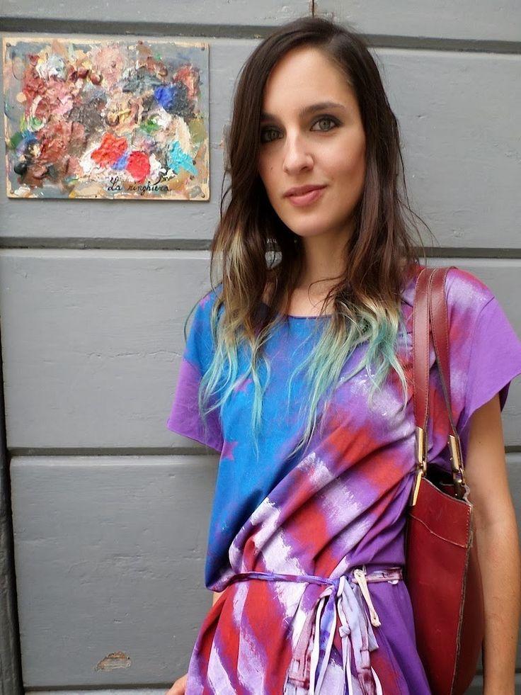 maxi t-shirt donna by Trashit on @Sbaam http://sba.am/9djep10advs