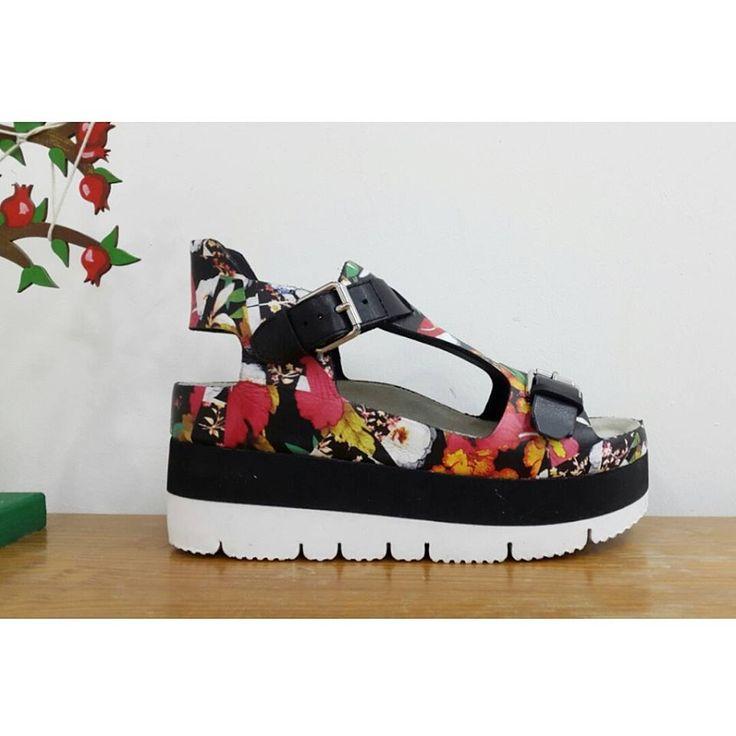 Ash Shoes | Antonella Boutique #Ash #Summer #Flowers #DualLayer #AntonellaBoutique