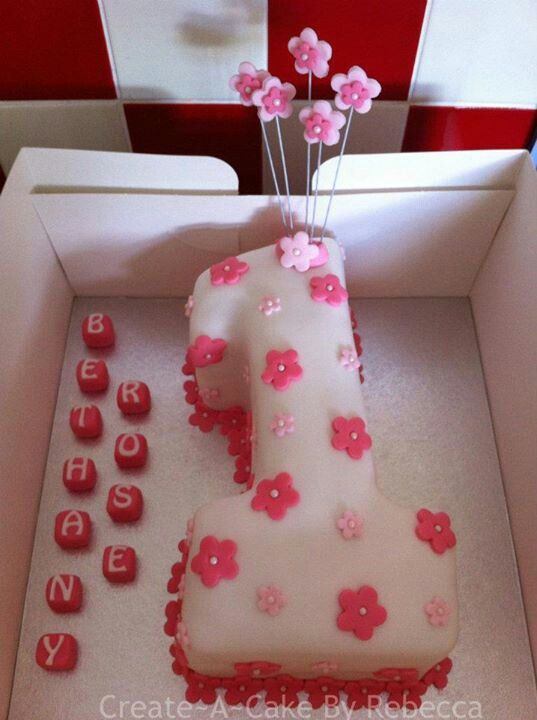 Number 1 cake By Create~A~Cake By Rebecca.... find us on Facebook x
