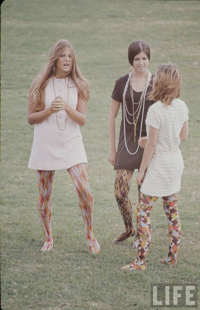 All of your tights. 1969.