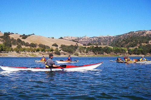 Lake Del Valle In Livermore