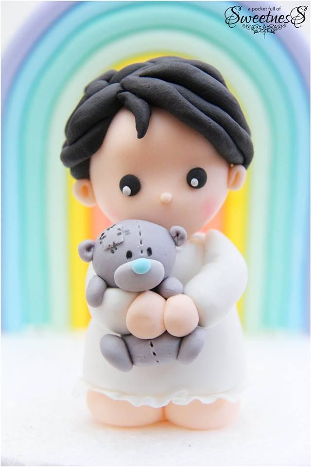 Porcelana fría - Cold porcelain - Sugar paste - Fondant - Polymer clay - Cake Topper