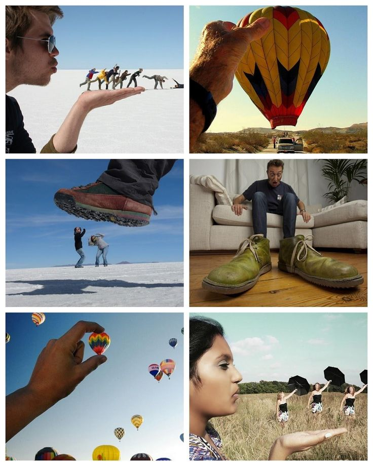 Forced Perspective Photography (Expert's Tuesday)
