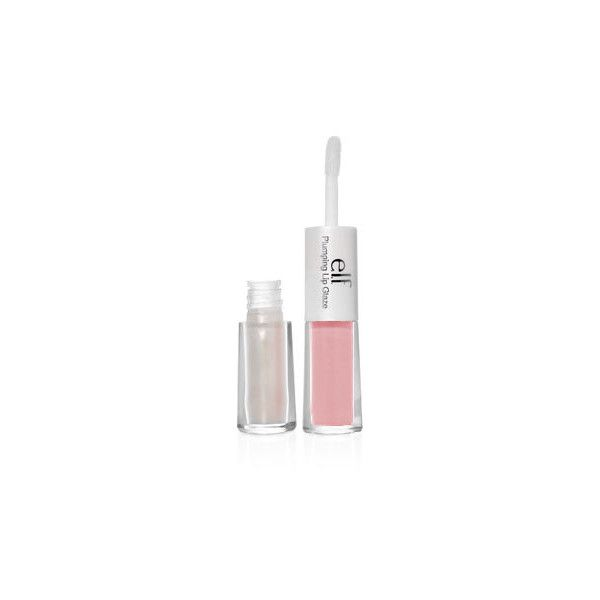 Plumping Lip Glaze (3,10 BRL) ❤ liked on Polyvore featuring beauty products, makeup, lip makeup, beauty and elf cosmetics