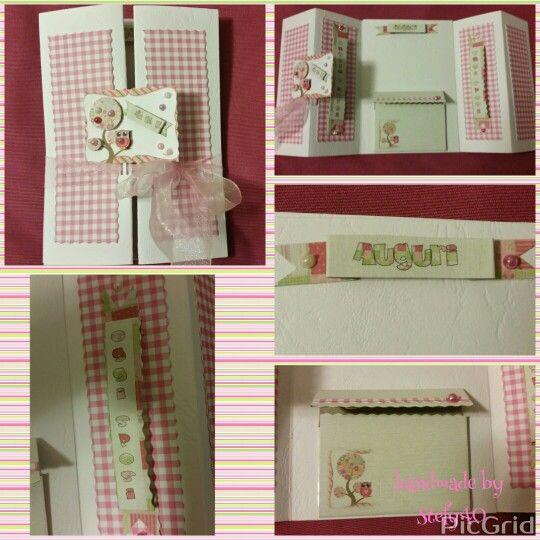 Wedding card - biglietto di auguri per matrimonio - card porta soldi