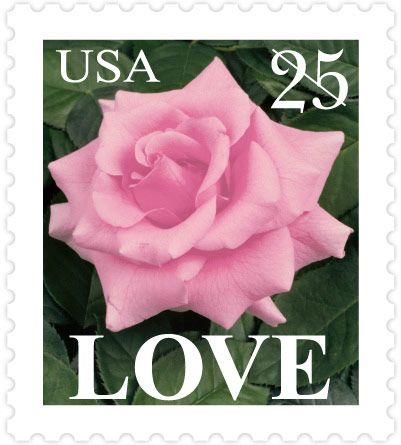 {wanted this stamp for our wedding invites. I wish the USPS would bring these back!} Love - 1988