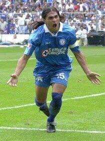 Francisco Palencia of Cruz Azul & Mexico in 2002.