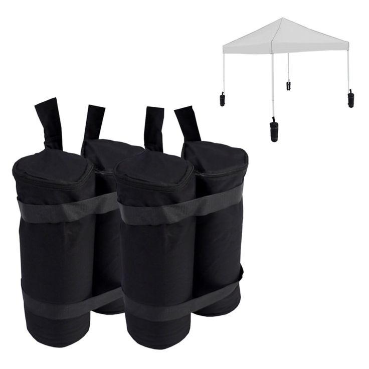 Logo Brands Canopy Weight Bags - Set of 4 - 46-100