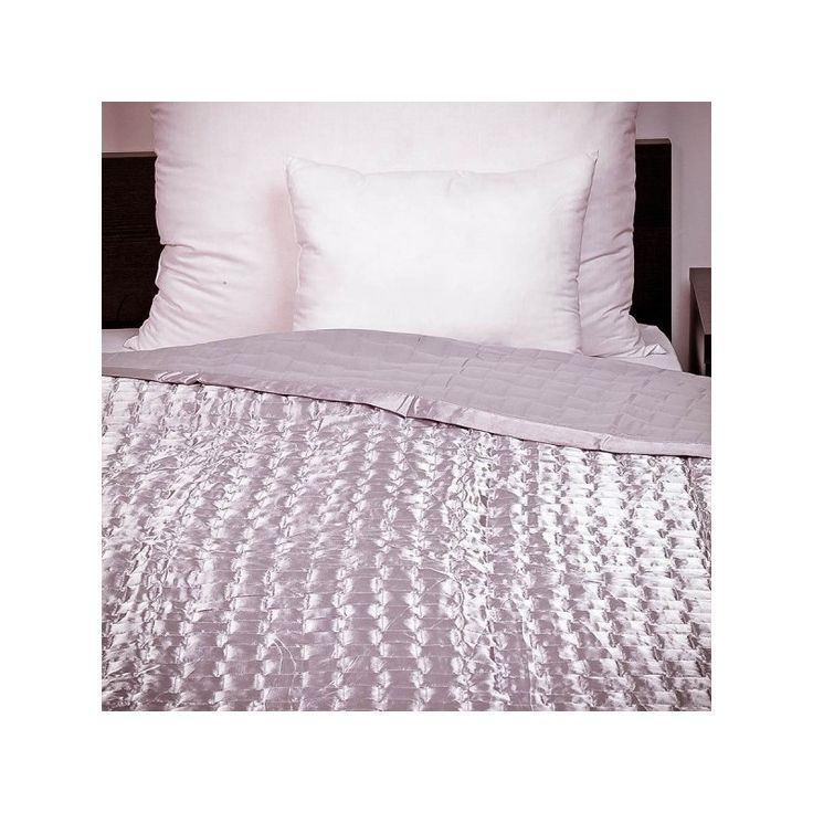 PE-Szatén ezüst ágytakaró 235x250 cm, Díszpárna.com Webáruház