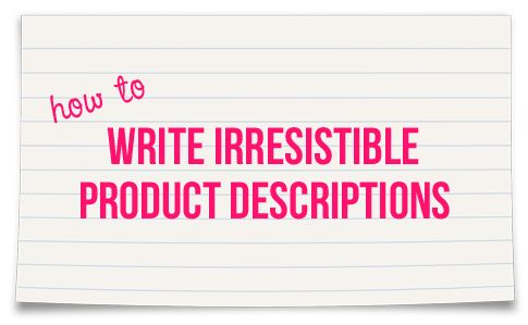 how to write luxury descriptions that sell