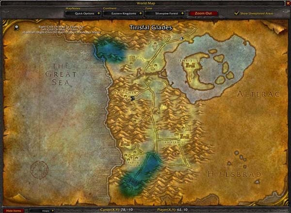 The 25 best world of warcraft map ideas on pinterest world of in world of warcraft maps get filled out as territory is explored gumiabroncs Gallery