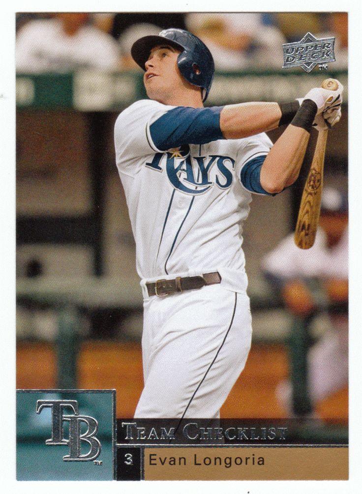 Evan Longoria # 489 - 2009 Upper Deck Baseball