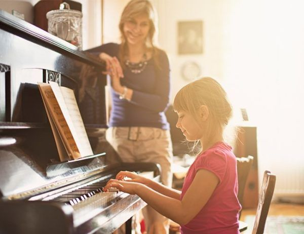 34+ Piano teacher and student clipart information