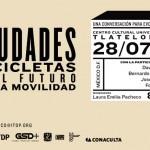 David Byrne visita México para promover un transporte urbano sustentable