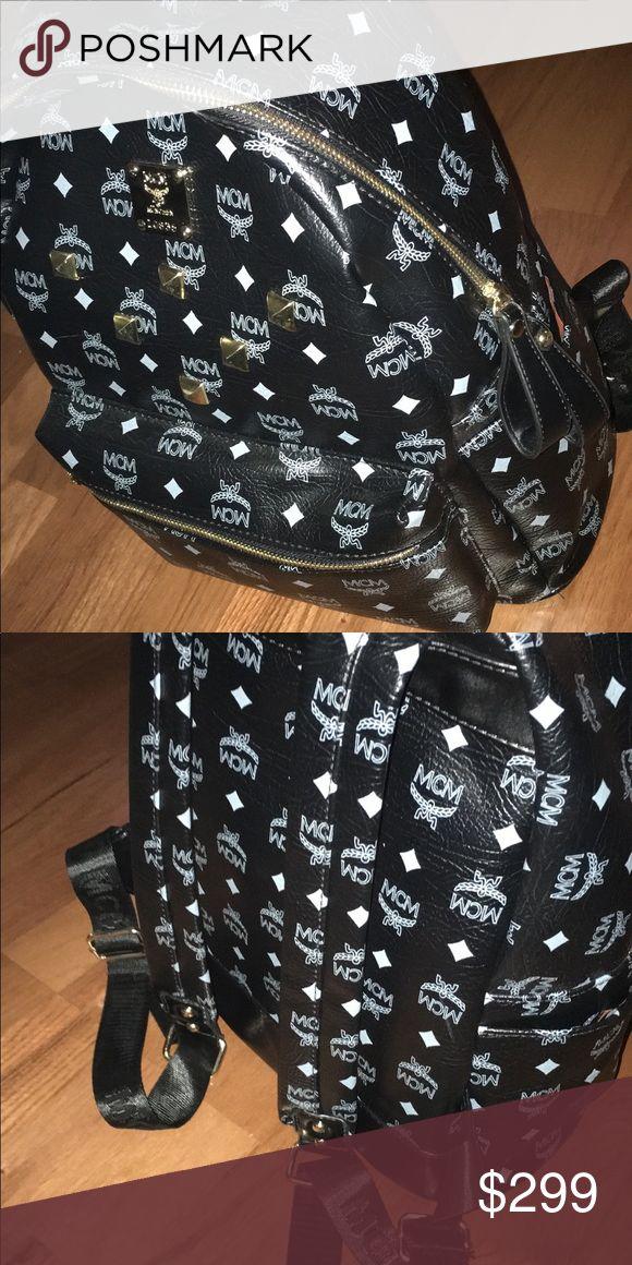 Black MCM backpack One sz black MCM backpack MCM Bags Backpacks