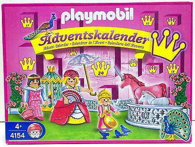 ADVENTSKALENDER PRINZESSIN EINHORN Playmobil 4154 v.`06 zu Schloss OVP NEU RAR