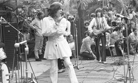 Rolling Stones, Hyde Park, 1969. Photograph: David Newell Smith/Observer