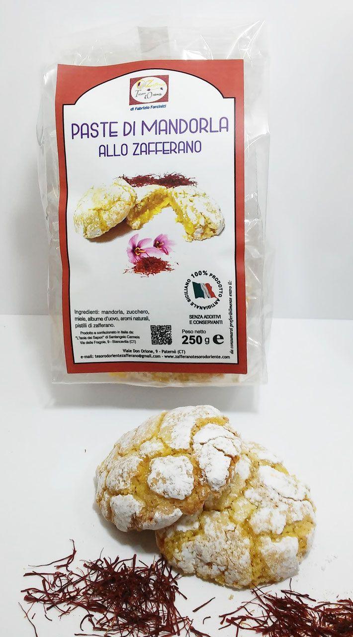 Paste di Mandorla allo Zafferano