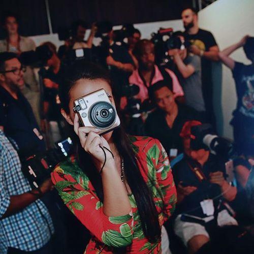 One (camera) is not like the other! #MyInstax Mini 70 camera shooting from the photo pit at @SwimMiami via Fujifilm on Instagram - #photographer #photography #photo #instapic #instagram #photofreak #photolover #nikon #canon #leica #hasselblad #polaroid #shutterbug #camera #dslr #visualarts #inspiration #artistic #creative #creativity