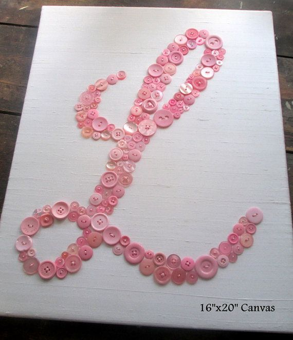 Wall Art Letters best 25+ button letters ideas on pinterest | button crafts