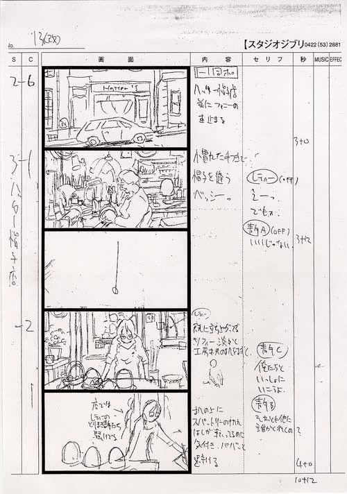 Best  Images On   Storyboard Hayao Miyazaki And