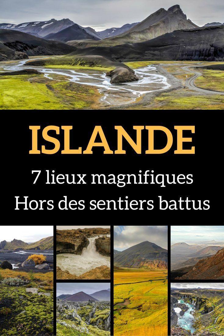 Que voir en Islande hors des sentiers battus ? Voici, en photos, 7 lieux d'exception pour ceux qui se sentent de partir à l'aventure. *** Voyage Islande - Islande Voyage - Islande Paysage - Que faire en Islande - Islande été ***