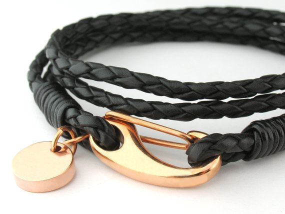 MCBC010253 3mm Genuine Braided Bolo Leather 316L by MeeCreation