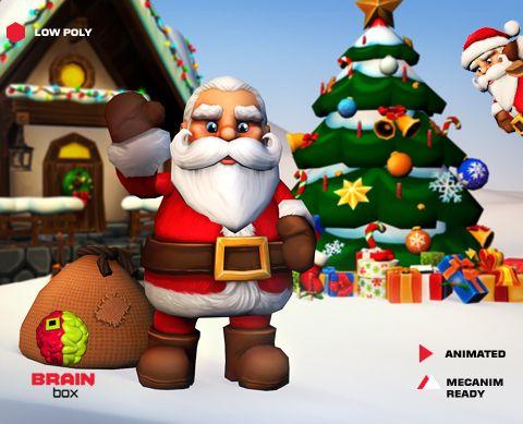 Santa Claus https://www.assetstore.unity3d.com/en/#!/content/24627