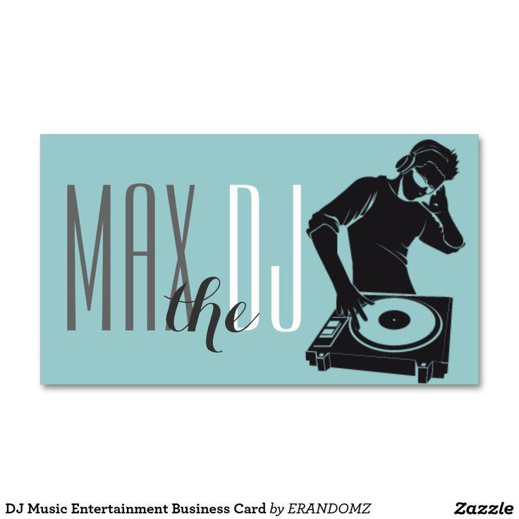 The 23 best Dj business cards images on Pinterest | Dj music ...